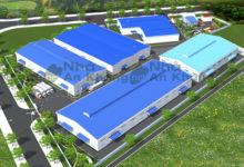 Dự án thiết kế nhà xưởng Công ty xây dựng Nền móng 369