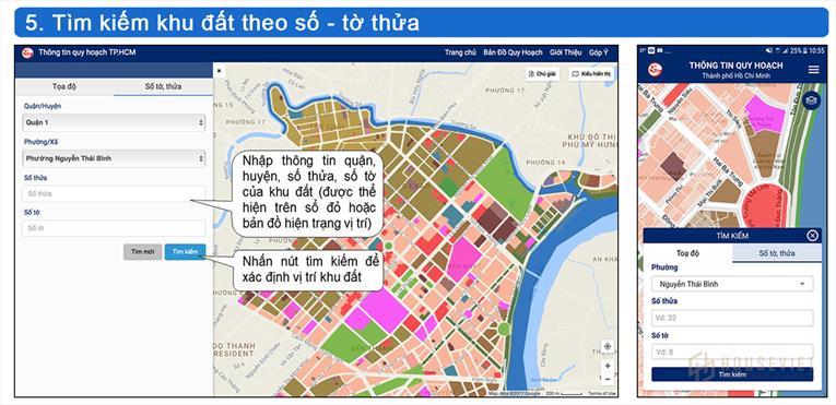 Tra cứu quy hoạch thành phố Hồ Chí Minh trực tuyến ở đâu?