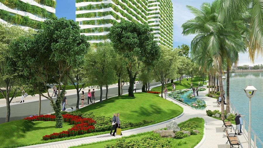 Thiết kế quy hoạch cây xanh đô thị quy định như thế nào?