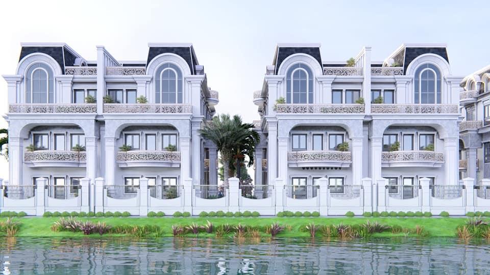 Nhà An Khang nhận vẽ phối cảnh nhà phân lô, nhà liền kề